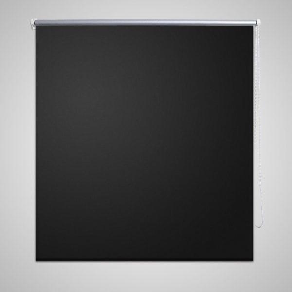 Pimendav ruloo 80 x 230 cm must