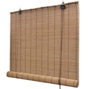 Pruunid bambusrulood 80 x 160 cm
