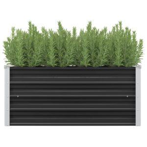 aia taimekast antratsiithall 100 x 40 x 45 cm tsingitud teras