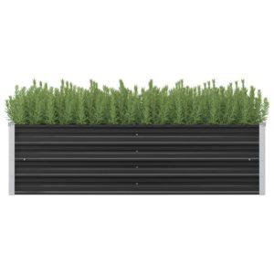 aia taimekast antratsiithall 160 x 40 x 45 cm tsingitud teras