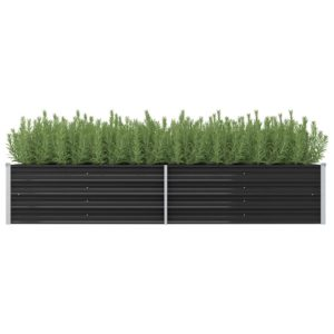aia taimekast antratsiithall 240 x 80 x 45 cm tsingitud teras