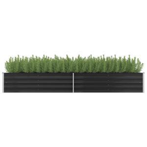 aia taimekast antratsiithall 320 x 80 x 45 cm tsingitud teras
