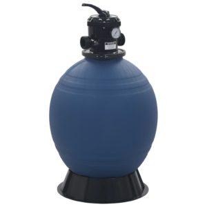 basseini liivafilter 6 asendis ventiiliga sinine 560 mm