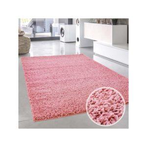 Pastell roosa lastetoa vaip - Pastell Shaggy