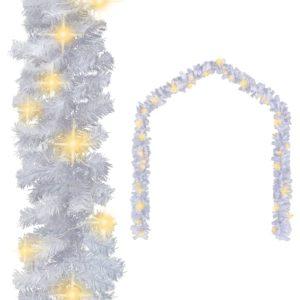 jõuluvanik LED-tuledega 10 m valge