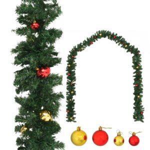 jõuluvanik jõulukuulidega 10 m