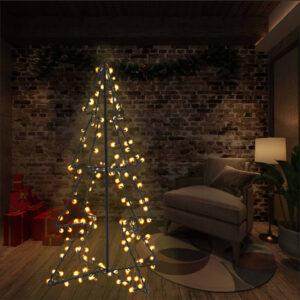 koonusekujuline jõulupuu 160 LEDi