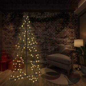 koonusekujuline jõulupuu 240 LEDi