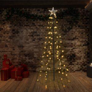 koonusekujuline jõulupuu 96 LEDi