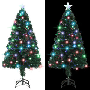 kunstkuusk aluse/LED-tuledega 120 cm
