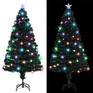 kunstkuusk aluse/LED-tuledega 150 cm
