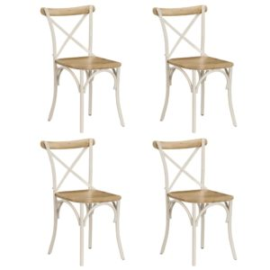 ristikujulise seljatoega toolid 4 tk