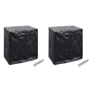 aiamööblikatted 2 tk lauatennise laud 8 ava 160x55x182 cm
