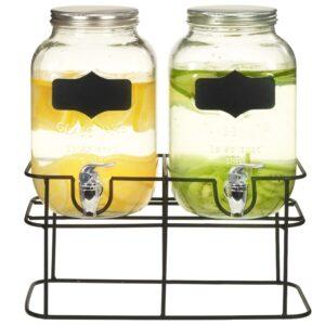 joogiserveerimisnõu 2 tk alusega 2 x 4 l klaas