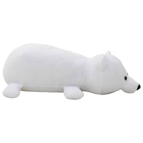 plüüsist jääkaru valge