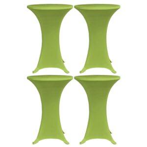 venivad lauakatted 4 tk 60 cm roheline