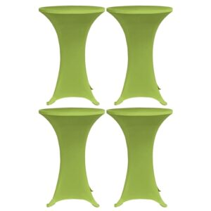 venivad lauakatted 4 tk 70 cm roheline
