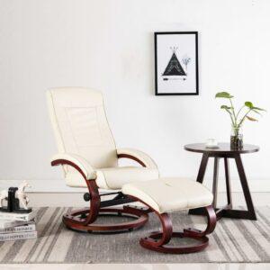 allalastava seljatoega tool jalapingiga kreemjasvalge kunstnahk