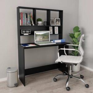 kirjutuslaud riiulitega