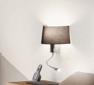 Seinavalgusti HOTEL LED lugemislambiga