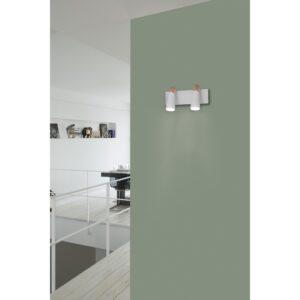 Seinavalgusti kahe valgusallikaga LAO LED