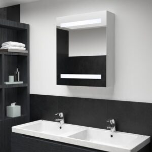 LED-vannitoa peegelkapp