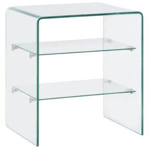 kohvilaud 50 x 40 x 56 cm karastatud klaas