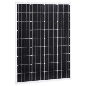 päikesepaneel 100 W monokristalliline alumiinium ja turvaklaas
