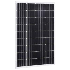 päikesepaneel 120 W monokristalliline alumiinium ja turvaklaas