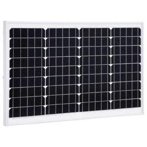 päikesepaneel 40 W monokristalliline alumiinium ja turvaklaas