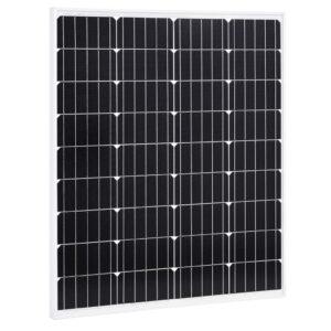 päikesepaneel 80 W monokristalliline alumiinium ja turvaklaas