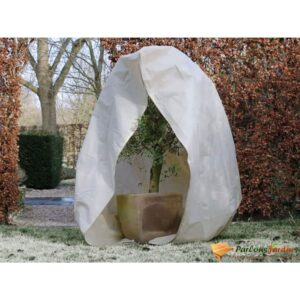 Nature talve fliiskate lukuga 70 g/m² beež 2 x 1