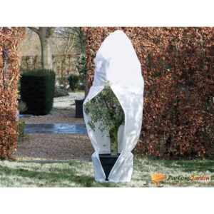 Nature talve fliiskate lukuga 70 g/m² valge 1