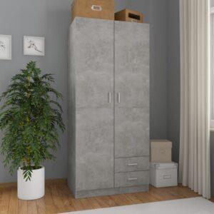 garderoob betoonhall 80 x 52 x 180 cm puitlaastplaat