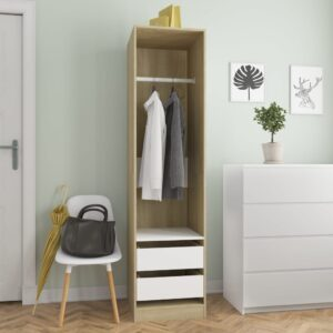 garderoob sahtlitega valge