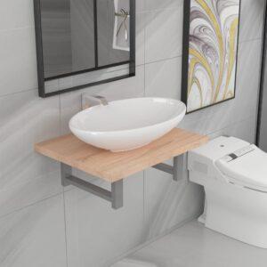 kaheosaline vannitoamööbli komplekt