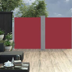 lahtitõmmatav külgsein 170 x 600 cm punane