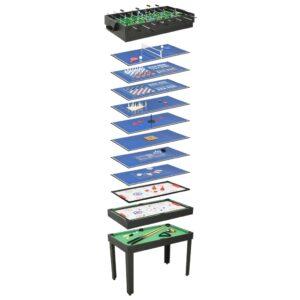 15 ühes mitme mängu laud 121 x 61 x 82 cm