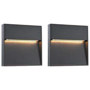 LED-seinavalgustid õue 2 tk