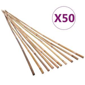 bambusvaiad 50 tk 120 cm