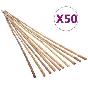 bambusvaiad 50 tk 150 cm