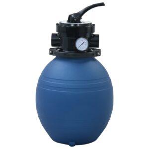 basseini liivafilter 4 asendis ventiiliga sinine 300 mm