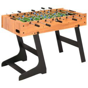 kokkupandav lauajalgpalli laud 121 x 61 x 80 cm