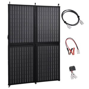 kokkupandav päikesepaneeli laadija 100 W 12 V
