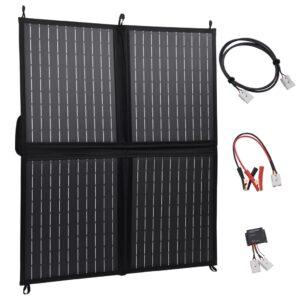 kokkupandav päikesepaneeli laadija 80 W 12 V