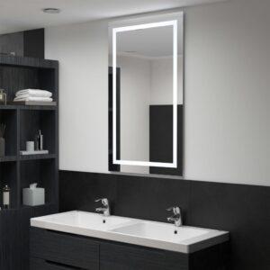vannitoa LED-seinapeegel puutetundliku anduriga 60 x 100 cm