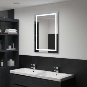 vannitoa LED-seinapeegel puutetundliku anduriga 60 x 80 cm