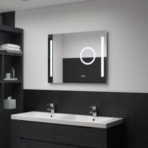 vannitoa LED-seinapeegel puutetundliku anduriga 80 x 60 cm