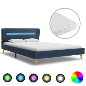 voodi LEDi ja madratsiga