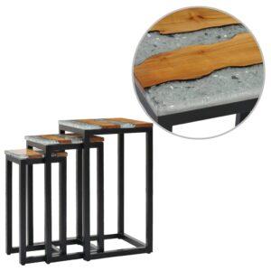 üksteise alla mahtuvad lauad 3 tk